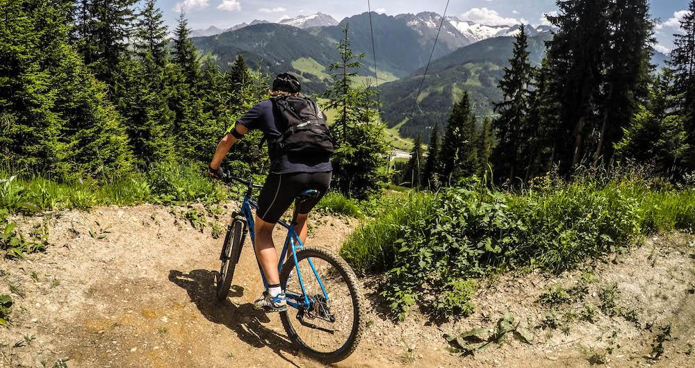 fietsen mountainbiken