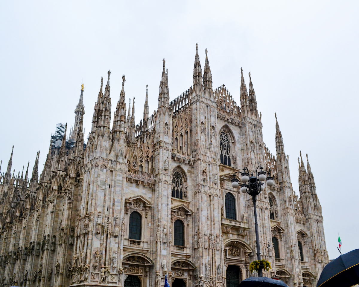 bijzondere streken - milaan - kerk - lijstjes - reizen
