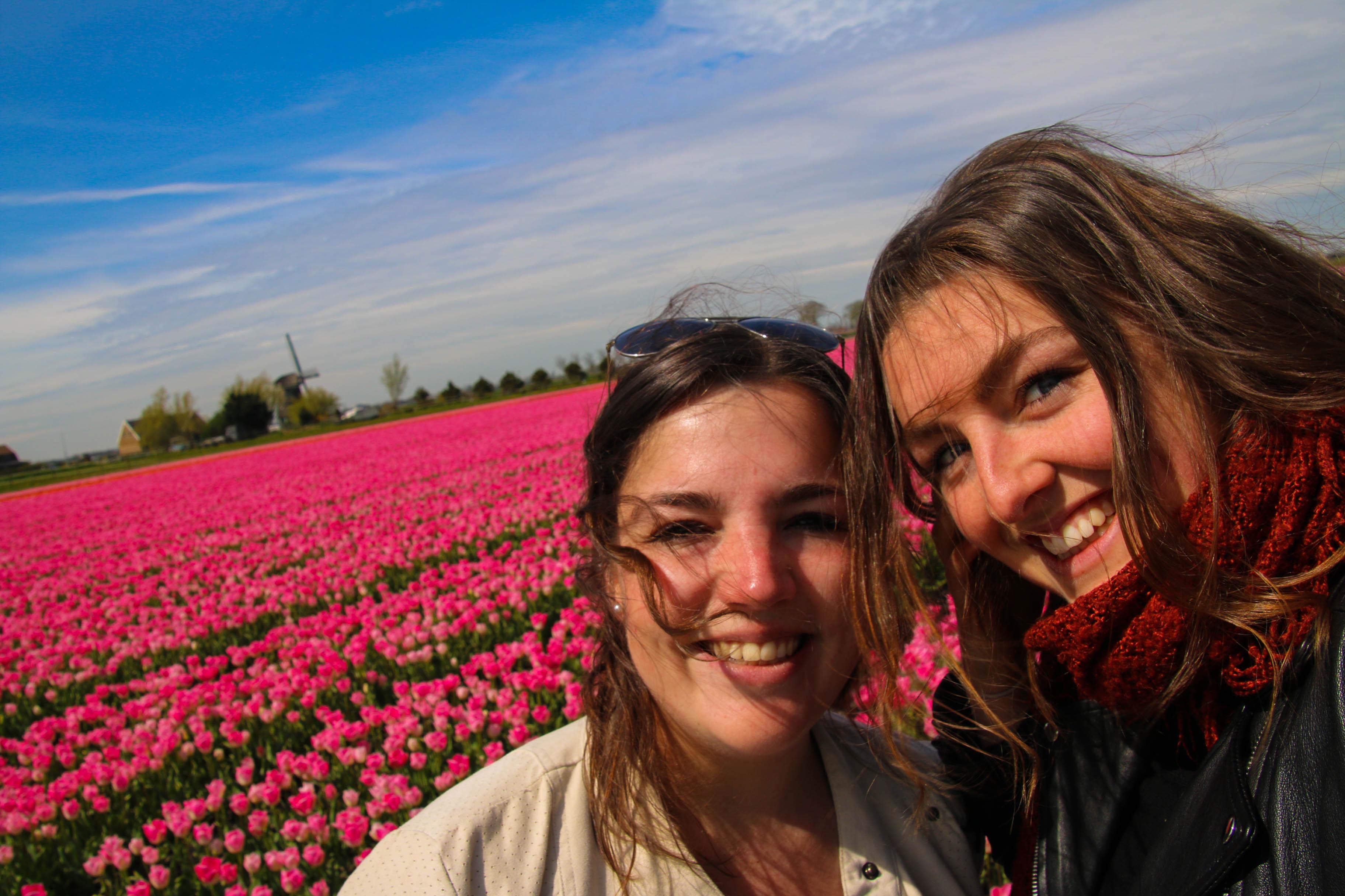 flo daph - tulpen - bijzonderestreken