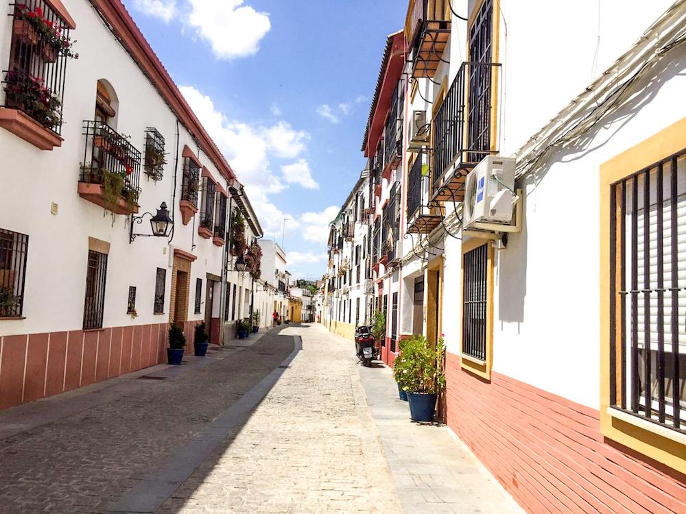 1 - festival in córdoba - romantische streken - straatje - bloemen
