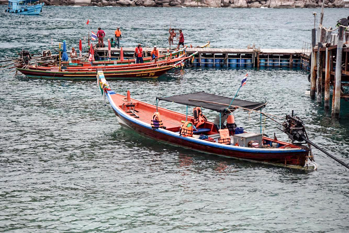 2 snorkelen op koh nang yuan - strand streken - bijzondere streken