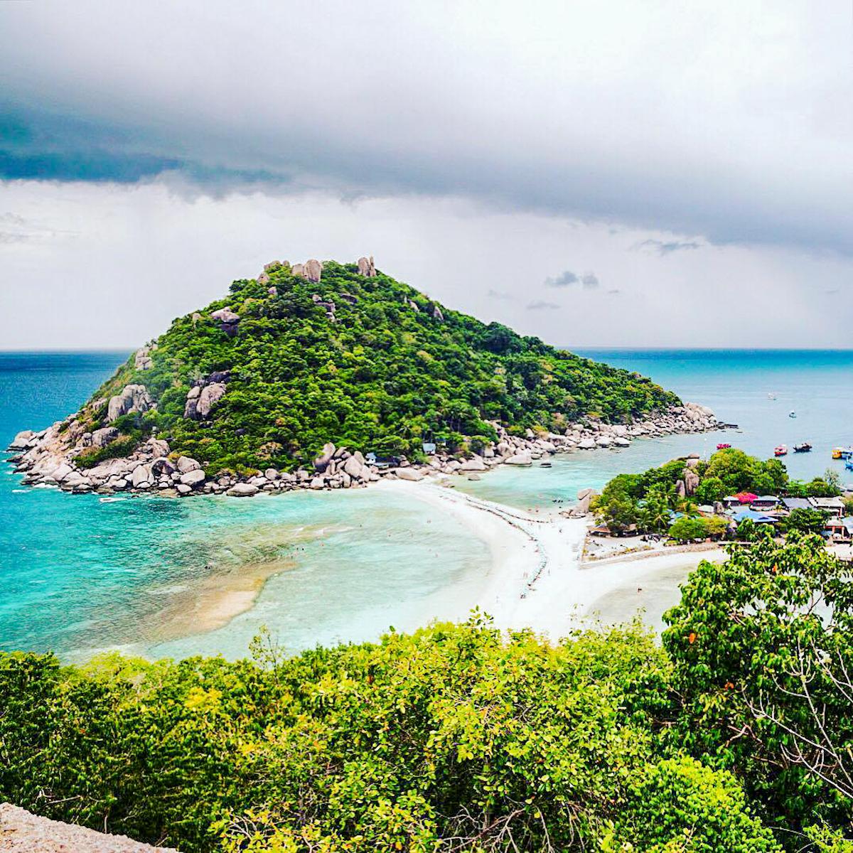 3 snorkelen op koh nang yuan - strand streken - bijzondere streken