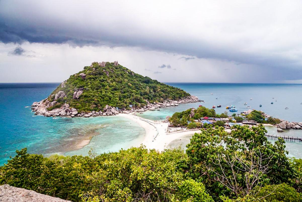 4 snorkelen op koh nang yuan - strand streken - bijzondere streken