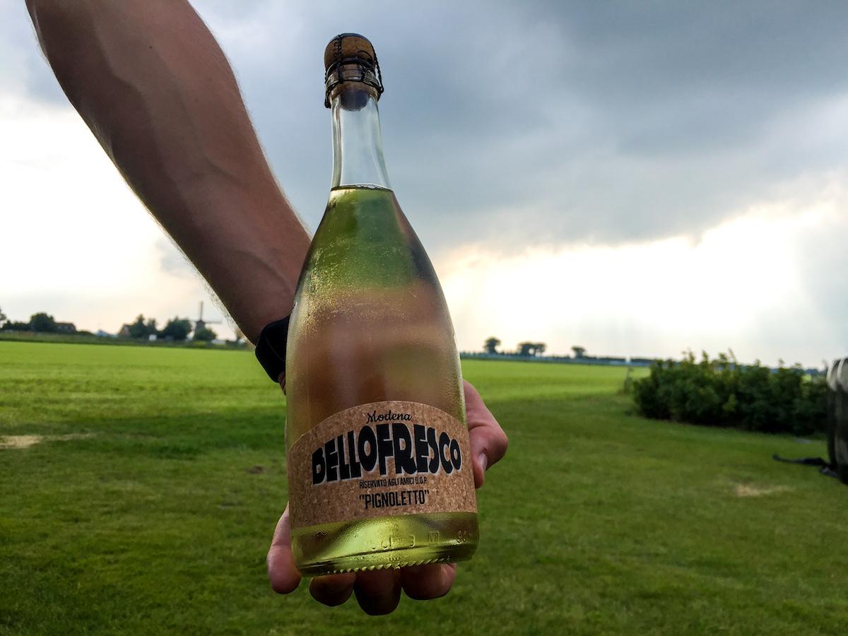 4 - bijzondere streken - wijn proeven - bellofresco - lambrusco - pignoletto