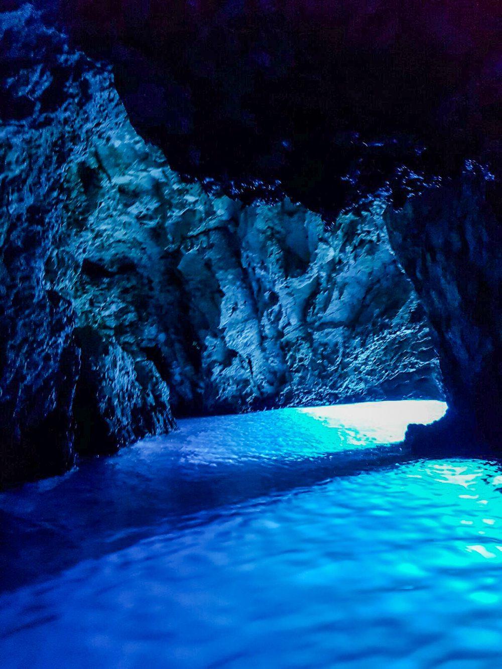 3 blue cave National Park Krka watervallen kroatie - bijzonderestreken.nl dfd