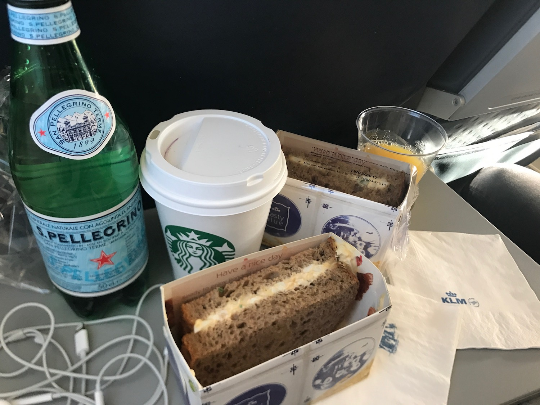 vliegtuigmaaltijd